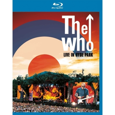 THE WHO  -  THE WHO:LIVE IN HYDE PARK