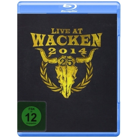 LIVE AT WACKEN  -  LIVE AT WACKEN 2014(3BLU-RAY DELUXE EDITION)<BLU-RAY> (3 DISC)