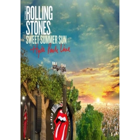 THE ROLLING STONES  -  SWEET SUMMER SUN DELUXE EDITION(BD + 2DVD + 2CD)
