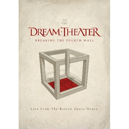 DREAM THEATER  -  BREAKING THE FOURTH WALL(LIVE FROM THE BOSTON OPERA HOUSE)(2 DISC)
