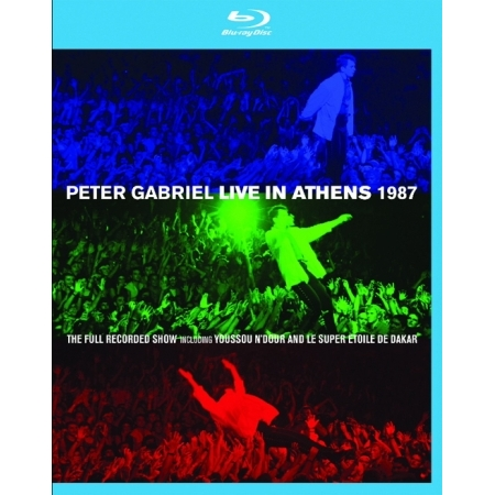 PETER GABRIEL  -  LIVE IN ATHENS 1987(2 DISC)