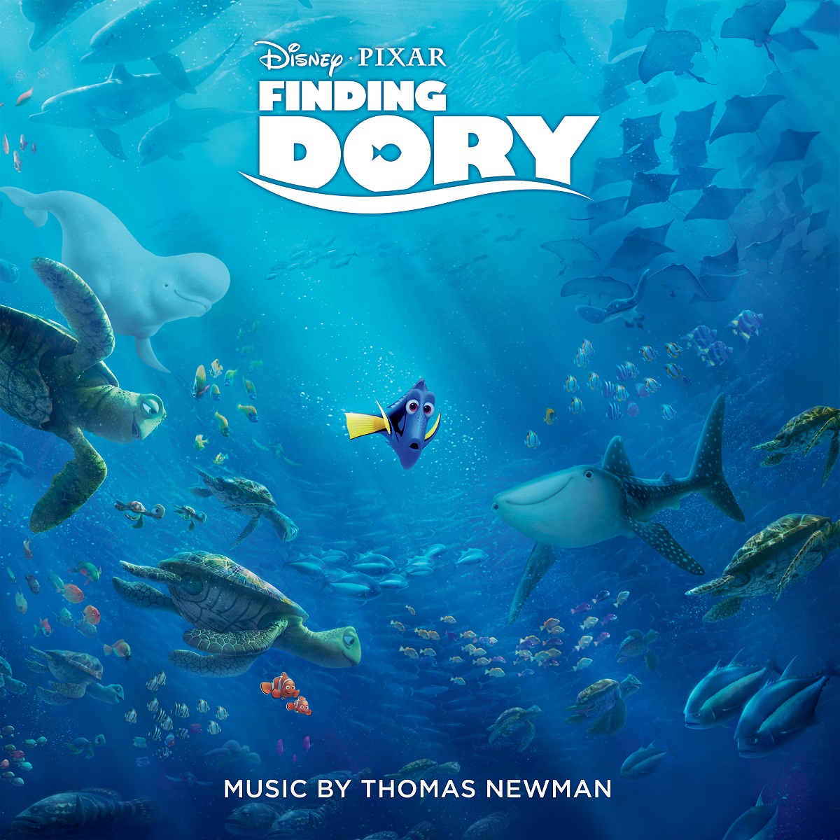 FINDING DORY(映画道理を探して) -  OST(THOMAS NEWMAN)