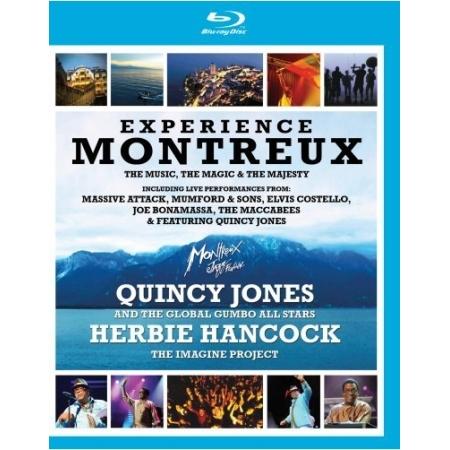 QUINCY JONES、HERBIE HANCOCK ...  -  EXPERIENCE MONTREUX(2 DISC)
