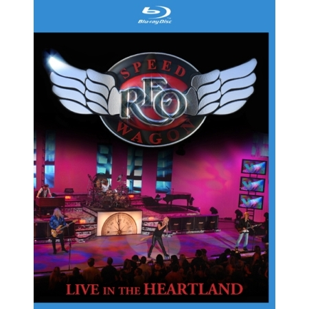 REO SPEEDWAGON  -  LIVE IN THE HEARTLAND(1 DISC)