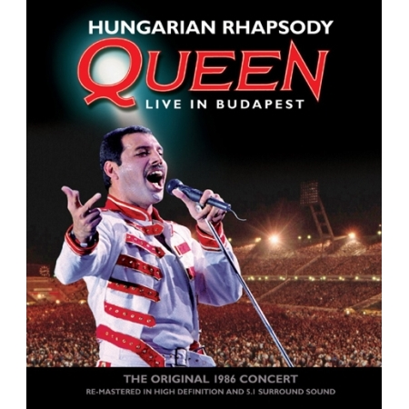 QUEEN  -  LIVE IN BUDAPEST [HUNGARIAN RHAPSODY】(1 DISC)