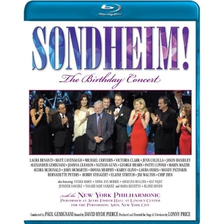 SONDHEIM! THE BIRTHDAY CONCERT WITH NEW YORK PHILHARMONIC(1 DISC)