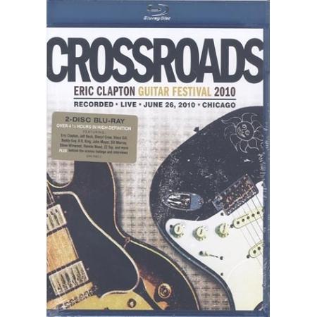 ERIC CLAPTON  -  CROSSROADS GUITAR FESTIVAL 2010(2 DISC)