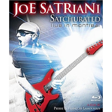 JOE SATRIANI  -  SATCHURATED:LIVE IN MONTREAL(1 DISC)