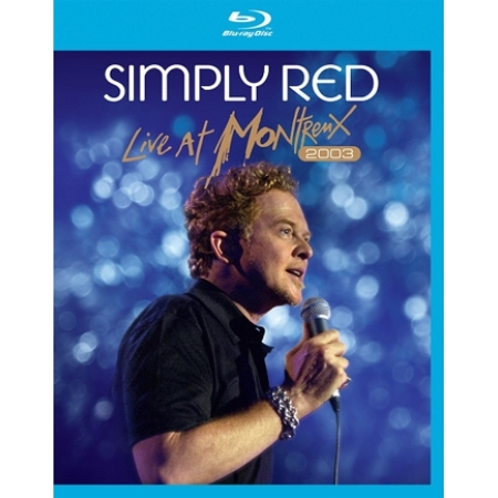 SIMPLY RED  -  LIVE AT MONTREUX 2003(1 DISC)