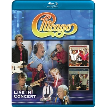 CHICAGO  -  LIVE IN CONCERT(1 DISC)