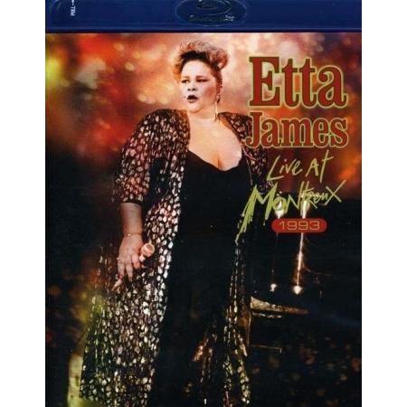 ETTA JAMES  -  LIVE AT MONTREUX 1975-1993(1 DISC)