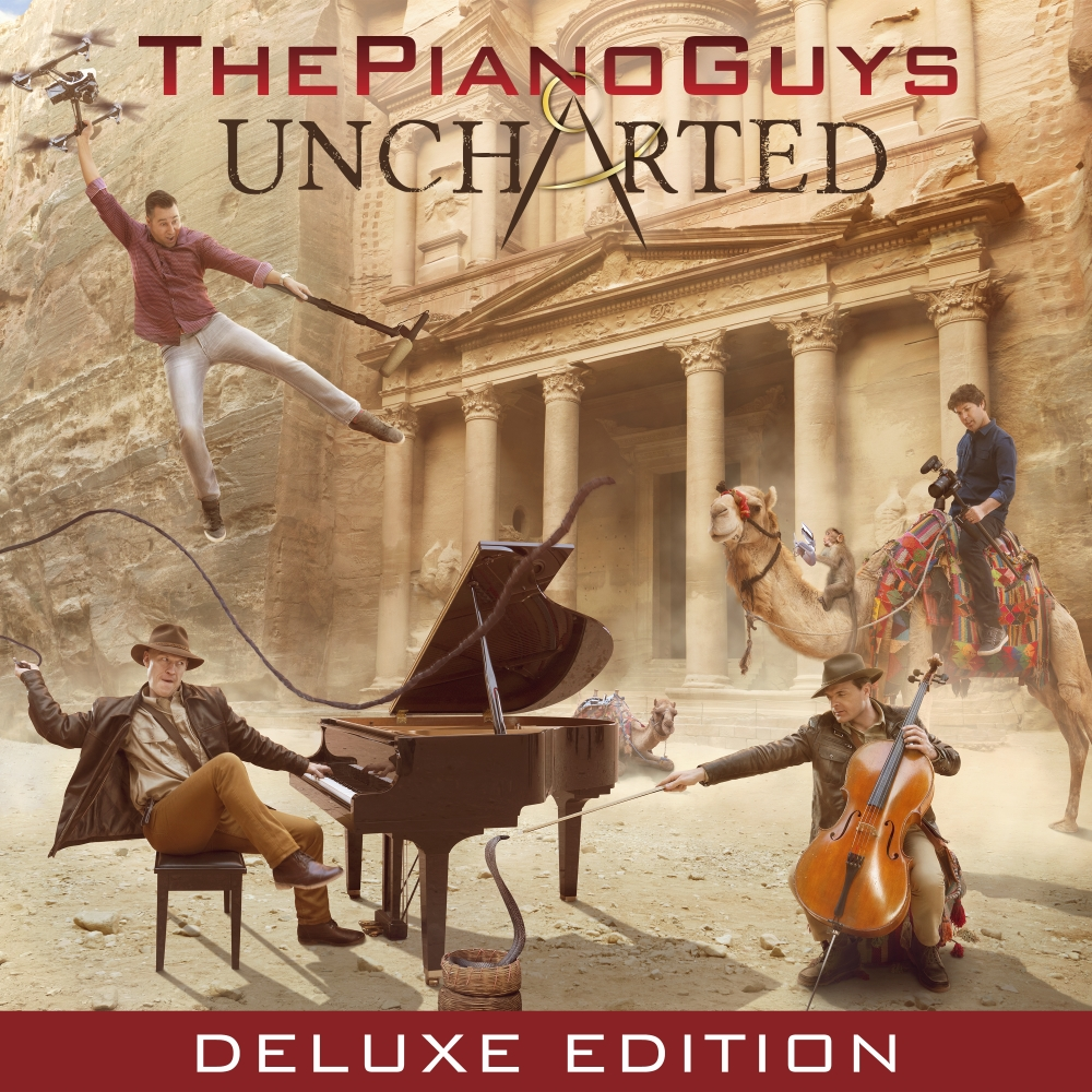 THE PIANO GUYS  -  UNCHARTED(KOREA DELUXE EDITION)[CD + DVD]