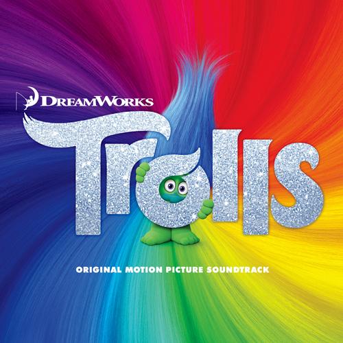 TROLLS(映画トロール) -  OST(限定版レンチキュラカート版)