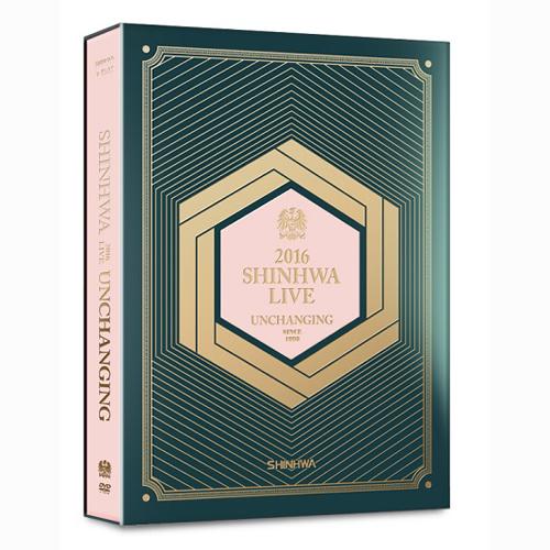 神話(SHINHWA) -  2016 SHINHWA LIVE UNCHANGING DVD
