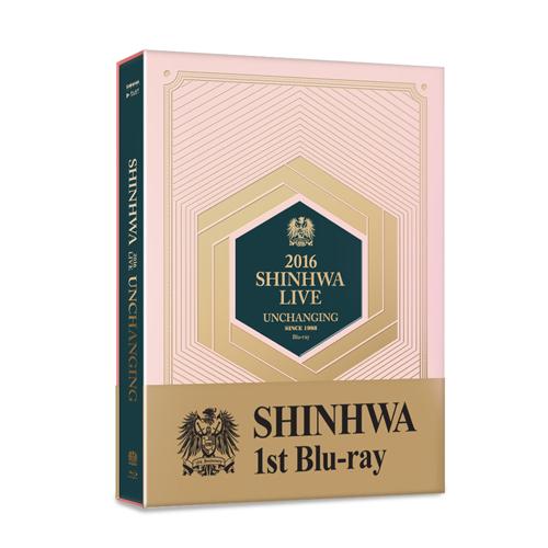 神話(SHINHWA) -  2016 SHINHWA LIVE UNCHANGING Blu-ray