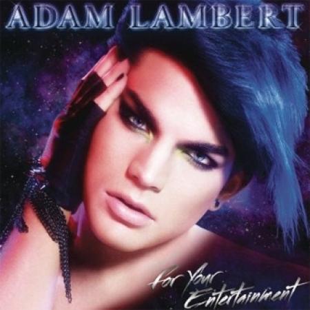 ADAM LAMBERT(アダムランバート) -  FOR YOUR ENTERTAINMENT(REPACKAGE)[CD + DVD]