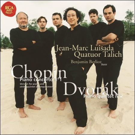 JEAN-MARC LUISADA(ジャン・マルク・ルイ買っ) -  CHOPIN:PIANO CONCERTO NO.1&DVORAK  -  PIANO QUINTET NO.2