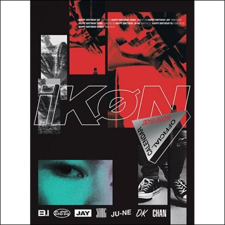 アイコン(iKON) -  [iKON 2019 OFFICIAL CALENDAR]