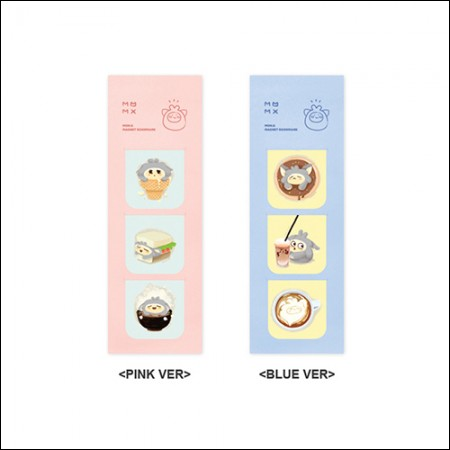 MON.G(十文字) -  OFFICIAL GOODS / MAGNET BOOKMARK [PINK VER / BLUE VER](マグネットブックマーク)
