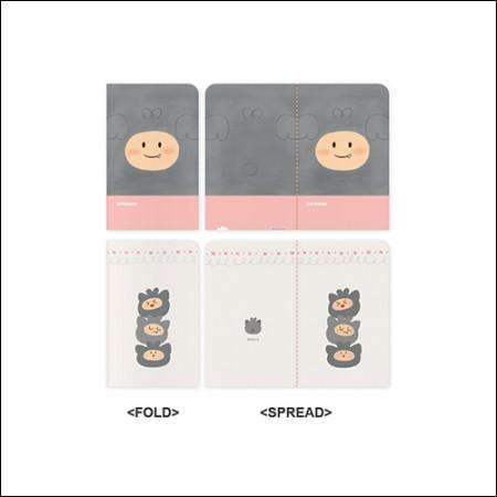 MON.G(十文字) -  OFFICIAL GOODS / MINI NOTE SET(ミニノートセット)