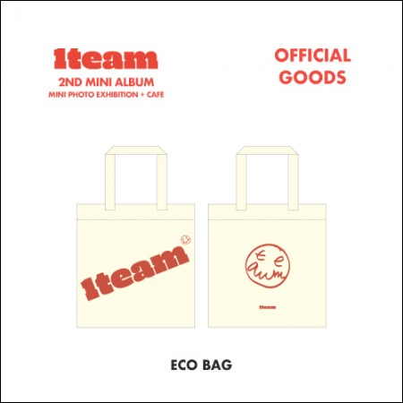 1team(ウォンチム) -  MINI PHOTO EXHIBITION + CAFE OFFICIAL GOODS [エコバッグ(ECO BAG)】