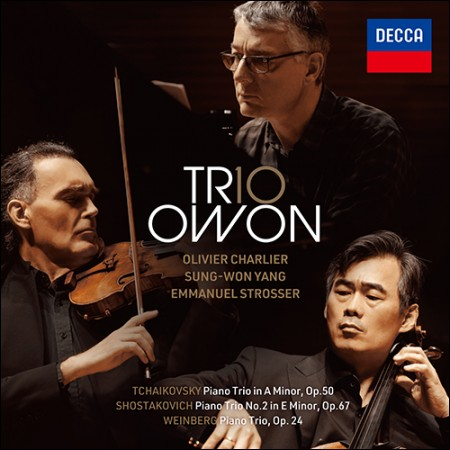 TRIO OWON(トリオオウォン) -  [TCHAIKOVSKY&SHOSTAKOVICH&WEINBERG:PIANO TRIO](2CD + 1DVD)