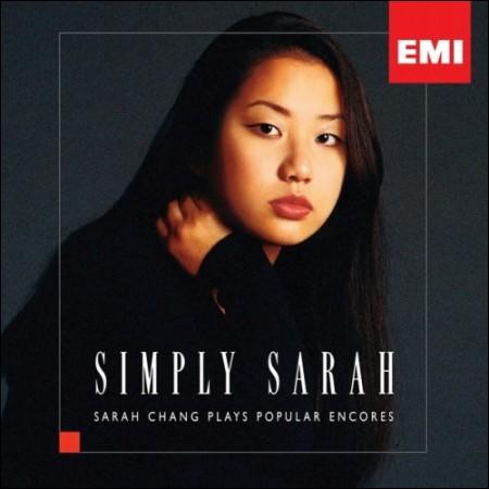 サラ枚(サラ・チャン)SIMPLY SARAH  -  POPULAR ENCORES