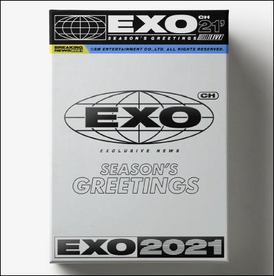エキソ(EXO) -  [2021シーズングリーティング(SEASON'S GREETINGS 2021)]