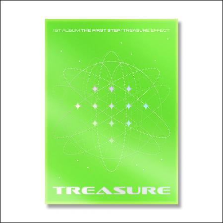 TREASURE - 1st ALBUM [THE FIRST STEP : TREASURE EFFECT] GREEN ver.