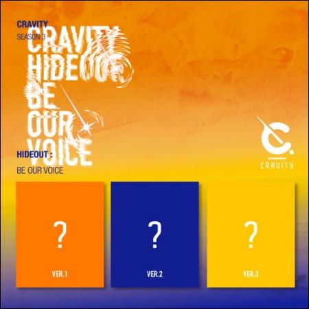 [세트] CRAVITY (크래비티) - CRAVITY SEASON3. [HIDEOUT: BE OUR VOICE]