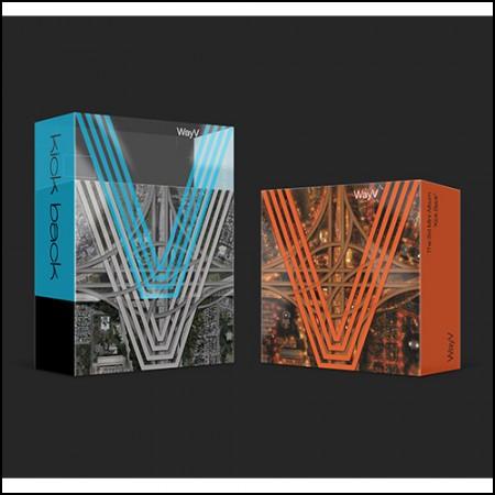 웨이션브이 (WayV) - 미니 3집 [Kick Back] - Kit Ver. (커버2종)