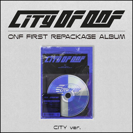 온앤오프(ONF) - 리패키지 앨범 [CITY OF ONF] CITY ver.
