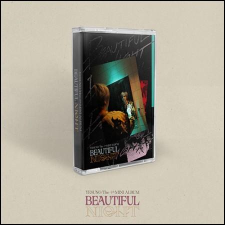 예성(YESUNG) - 미니 4집 [Beautiful Night] (Cassette Tape Ver.) (초회한정반)