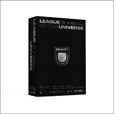 크래비티 (CRAVITY) - [LEAGUE OF THE UNIVERSE] DVD