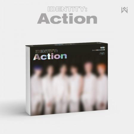 위아이(WEi) - 3rd Mini Album [IDENTITY : Action (Roller ver.)]