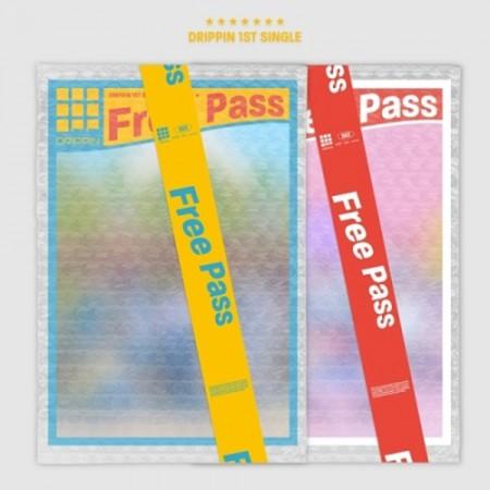 [세트] 드리핀 (DRIPPIN) -  1ST 싱글앨범  [Free Pass] (A + B VER.)