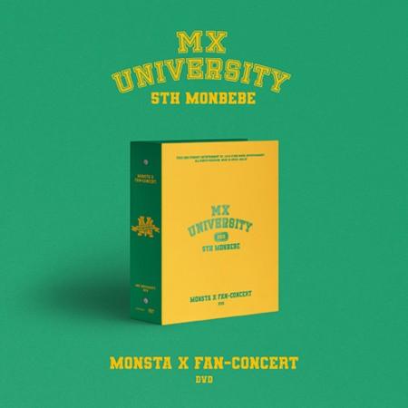 [교환반품불가] 몬스타엑스(MONSTA X) - MONSTA X 2021 FAN-CONCERT [MX UNIVERSITY] DVD