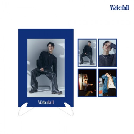 B.I [Waterfall] OFFICIAL MD 페이퍼 프레임 포토세트 Stand Frame & Photo Set