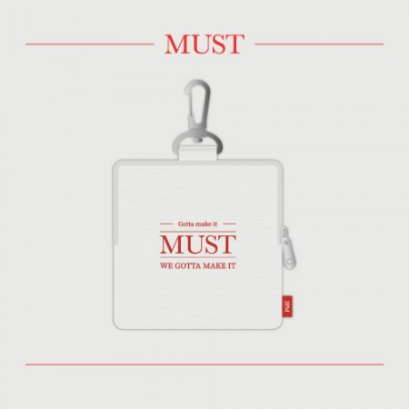 2PM [MUST] OFFICIAL MD 미니 파우치 Mini Pouch