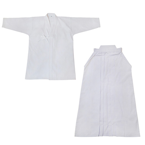 Kendo Uniform Set - Standard - White