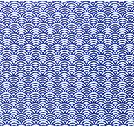 Japanese Tenugui -Shanghai Wave(No.620)