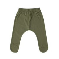little baby foot baggy: olive<br/>