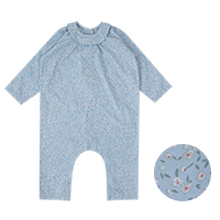 little baby play suit: February flower<br/>