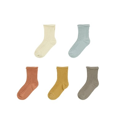 BASIC ROLLY SOCKS [5SET]