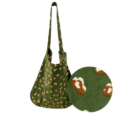 MOM PATTERN ECO BAG: KHAKI LEOPARD