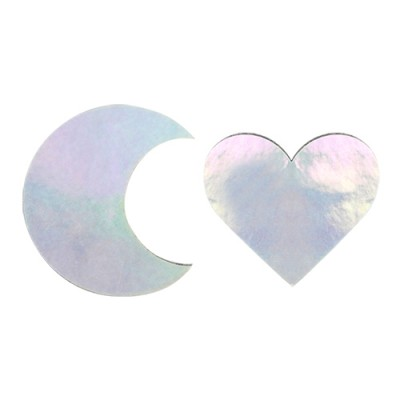 HEART MOON HAIR PIN SET: AURORA
