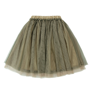 WENDY LONG TUTU: BEIGE OLIVE<br/>