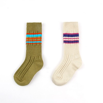 COLOR STRIPE SOCKS