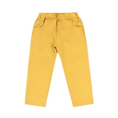 ESSENCIAL COTTON PANTS: MUSTARD<br/>