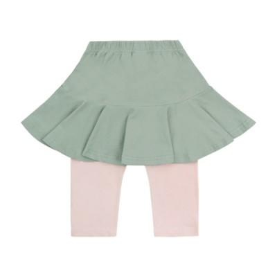 7.Skirt Leggings: Green